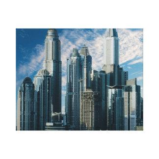 """""""Skyscraper"""" Canvas"""