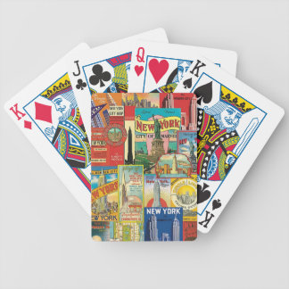 Skyscraper of New York Bicycle Playing Cards