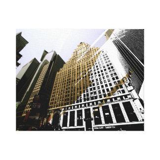 skyscraper sightings canvas print