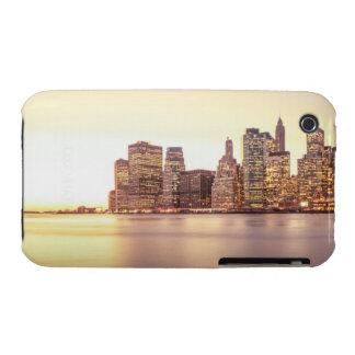 Skyscraper Skyline - New York City Sunset Case-Mate iPhone 3 Case