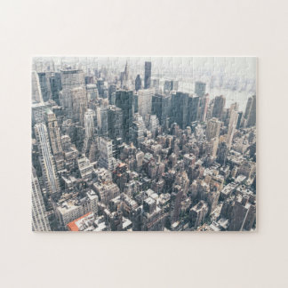Skyscrapers and Rooftops of New York City Jigsaw Puzzle