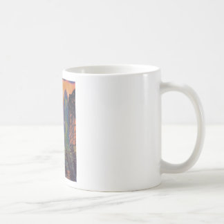 Skyscrapers by the river coffee mug