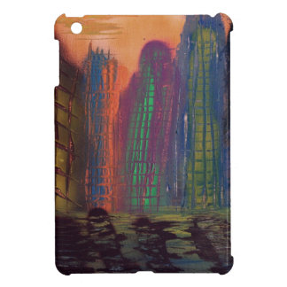 Skyscrapers by the river iPad mini cases