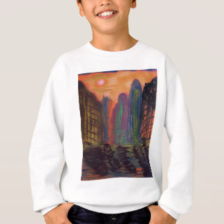Skyscrapers by the river sweatshirt