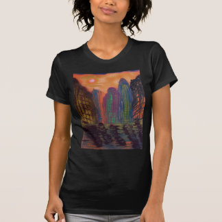 Skyscrapers by the river T-Shirt
