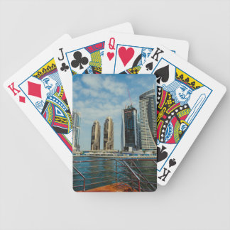 Skyscrapers in Dubai Marina Bicycle Playing Cards