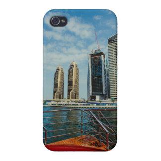 Skyscrapers in Dubai Marina Case For iPhone 4