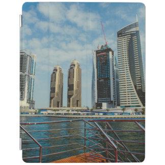 Skyscrapers in Dubai Marina iPad Cover