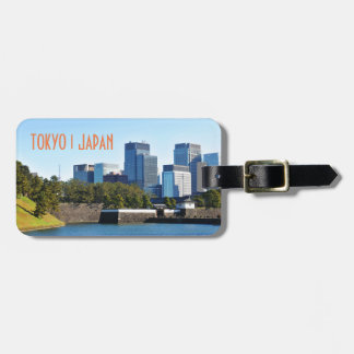 Skyscrapers in Tokyo, Japan Luggage Tag