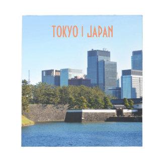 Skyscrapers in Tokyo, Japan Notepad