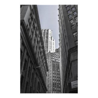 Skyscrapers New York City Centre Metropole Stationery