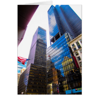 Skyscrapers NYC Card