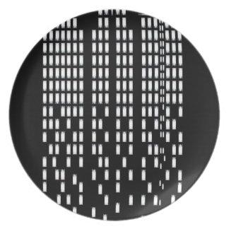 Skyscrapers Plate