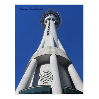Skytower (New Zealand) postcard