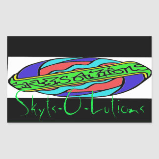 Skyts-o-lutions Premier Logo Custom Sticker