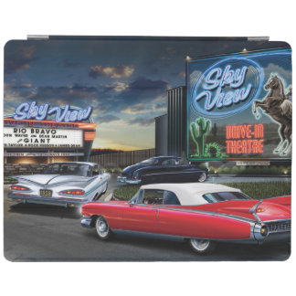 Skyview Drive In iPad Cover