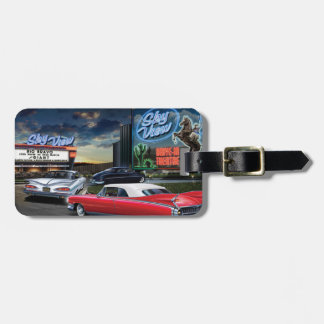 Skyview Drive In Luggage Tag