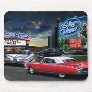 Skyview Drive In Mouse Pad