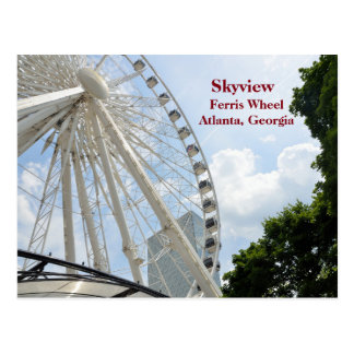 Skyview Ferris Wheel Atlanta, Georgia Postcard