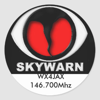 skywarn logo, Sticker