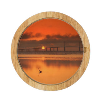 Skyway Bridge Rectangular Cheeseboard