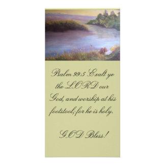 SL 22,1- marcador/bookmark Personalized Photo Card