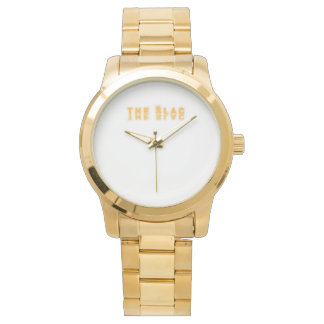 SLAC Men All Gold Watch