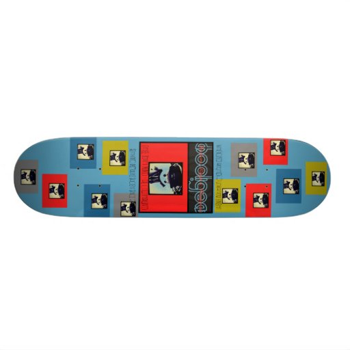 Slackers, Kings & Hooligans Cubics Rube Skateboards