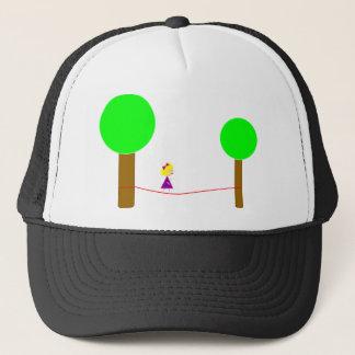 Slackline Girl Trucker Hat