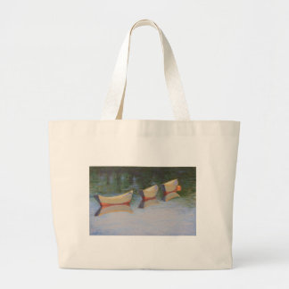 Slacktide dories on a grocery tote