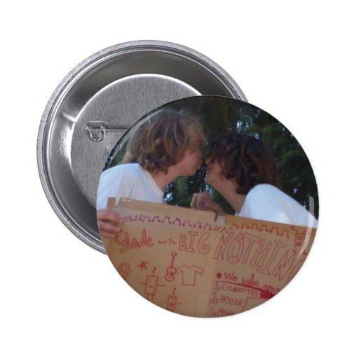 slade and zane Kissing Button #1