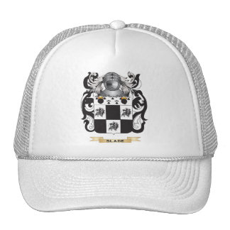 Slade Coat of Arms (Family Crest) Mesh Hats