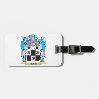 Slade Coat of Arms - Family Crest Travel Bag Tags