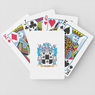 Slade Coat of Arms - Family Crest Bicycle Playing Cards