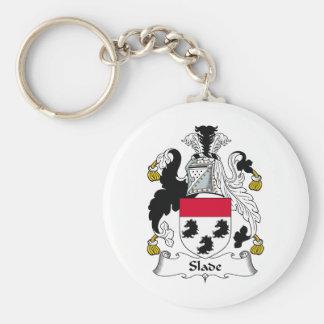 Slade Family Crest Basic Round Button Keychain