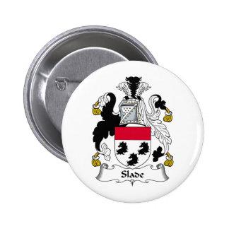 Slade Family Crest Pinback Button