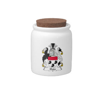 Slade Family Crest Candy Jar