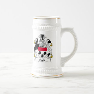 Slade Family Crest Mugs