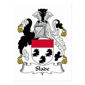 Slade Family Crest Postcard