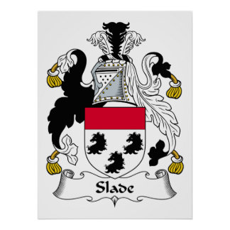 Slade Family Crest Posters