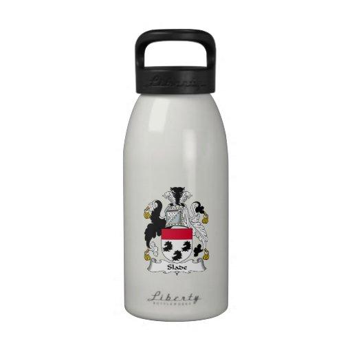 Slade Family Crest Water Bottles