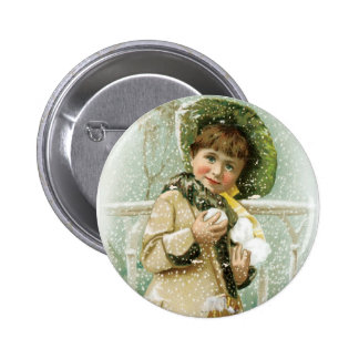 Slades Spices Girl with Snowballs Pinback Buttons