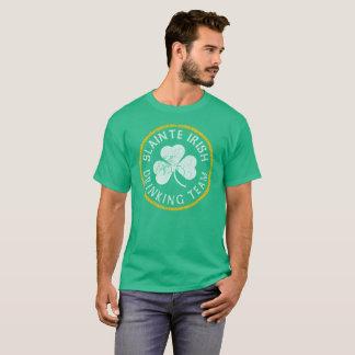 Slainte Irish Drinking Team T-Shirt