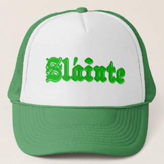 Sláinte Irish Health and Cheers - Slainte Trucker Hat