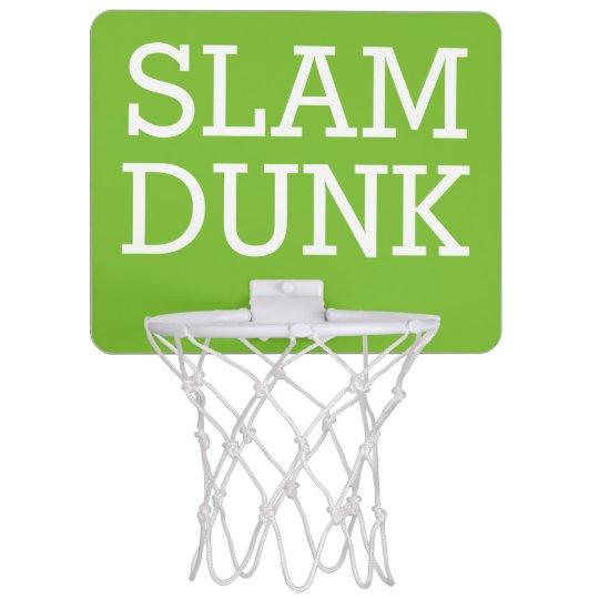 Slam Dunk Mini Basketball Hoop