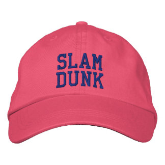 Slam Dunk Personalized Adjustable Hat