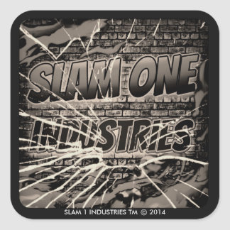 SLAM ONE INDUSTRIES STICKERS