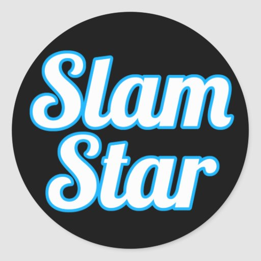 Slam Star Stickers