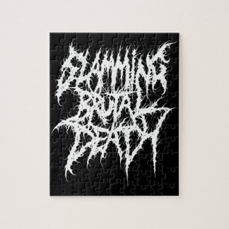 Slamming Brutal Death Metal Jigsaw Puzzle