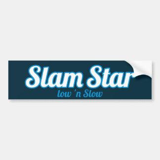 SlamStar Logo Bumper Sticker